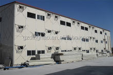 Guangzhou good quality prefabricated cheap prefab steel structure house