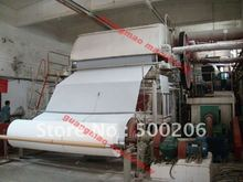 Small scale toilet paper,facial tissue paper making machinery, raw material: waste paper, straw, bagasse, bamboo, etc.