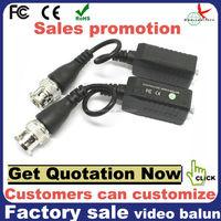 balun transformer video audio over cat 5