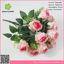 artifical wedding rose flower artificial flower for wedding wall stage decoration