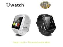 Bluetooth Smartwatch U8 U Watch Smart Watch Wrist Watch for iPhone 4/4S/5/5S Samsung S4/S5/Note 2/Note 3 Android Smartphone