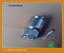 China supplier male twist lock UHF connectors For 10D-FB Cable
