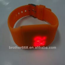 High quality led silicone digital watch with custom logo