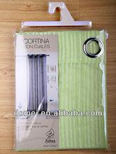 nueva moda de diseño de la cortina de lujo con cenefas