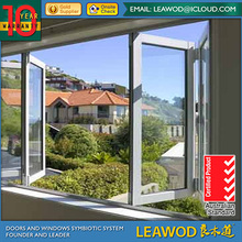 Thermal Break & Non-thermal Break Profile Aluminum Bi-folding AS2208 Glass Window