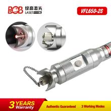 VFL650 Red light pen Fiber optic test Fault detector pen BOB-VFL650-2S