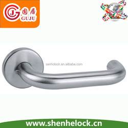 SUS304 tube lever separate leverset door lock