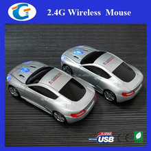 Kid GIft Cute Designer Car Shape 2.4G Wireless Optical Mouse