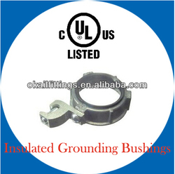 Insulated Grounding Bushings with lug by UL standards