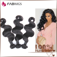 Wholesale Fabwigs Best Quality Double Wefted South Korean Glue Virgin Body Wave Unprocessed Indian Hair Extension