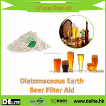 Brewing Industry Filter Aid Fresh Water Type Diatomiaceous Earth Beer&Red Wine Filter Aid For Alcoholic Beverage