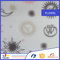 new product 100% Printed Cotton Flannel Fabric for Bed Sheet