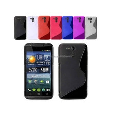 2015 NEW Arrival New Various Colour Silicone Gel S Line Case Cover for Liquid E700 TPU SKIN case