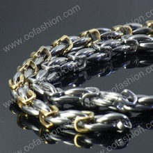 New Italian stainless steel bracelet ,gold filled stainless steel bracelet with fair price