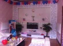 TEDA factory DIY WOOD stage background partition