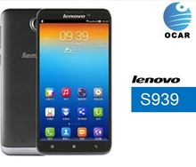 Hot sale!unloked Lenovo S939 mobile phone Android4.2 Dual camera 6.0''HD touch screen 1.7Mhz MT6592