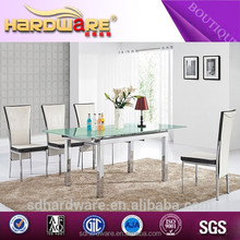 New product of oval glass top dining table alibaba express in furniture