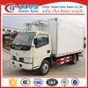 Dongfeng DFAC 3 TON mini refrigeration unit 4x2 food refrigerator van truck for sale