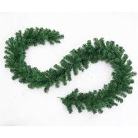 2.7 m PVC Green Christmas rattan cane rattan decorative ornaments Christmas tree ornaments