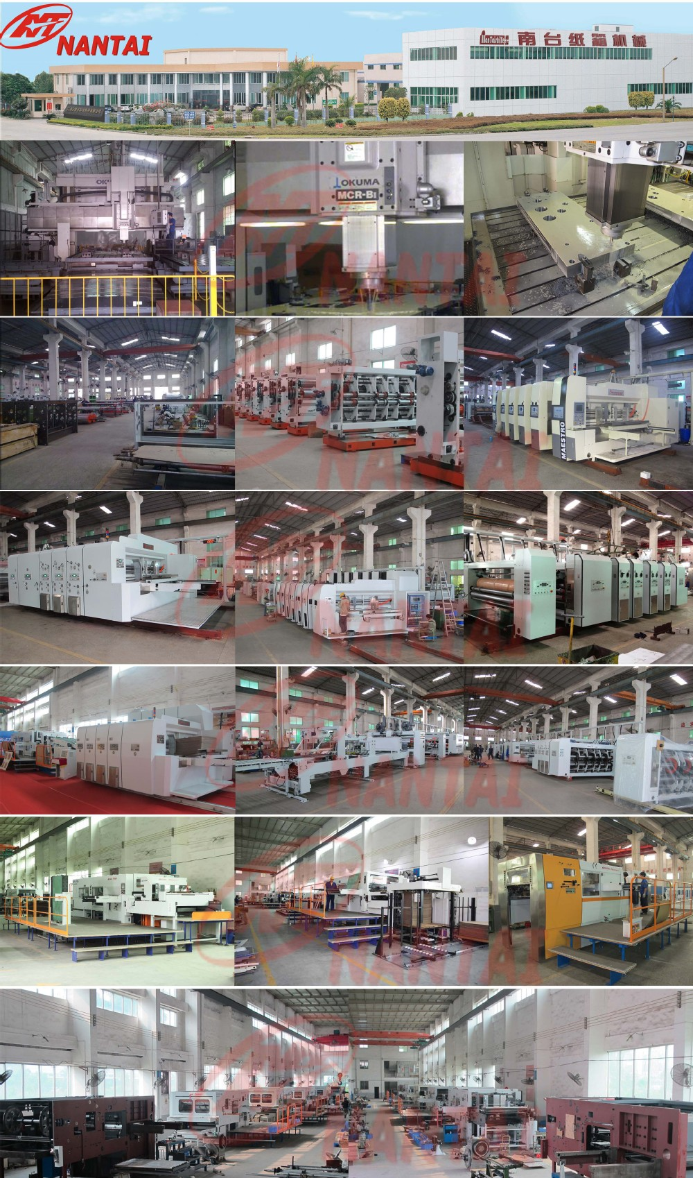NANTAI-Corrugated Flexo Printing slotting Machine