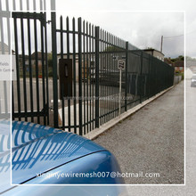 "xinqinye good price 72"" height wrought iron fence high quality supplier"
