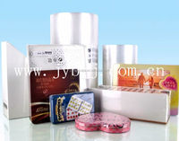 12 micron Polyolefin POF center fold film