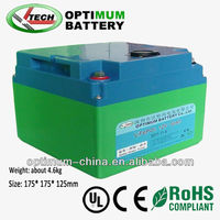 12V rechargeable lithium battery pack 50AH-300AH with deep cycle