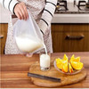 BPA free silicone food bags insulated food grade appprove fesh vegetable freshcooler bag for frozen food