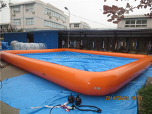 Large inflatable swimming pool/safety swimming pool