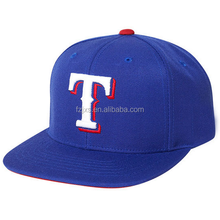 Royal Blue Custom Logo Nylon Baseball Cap