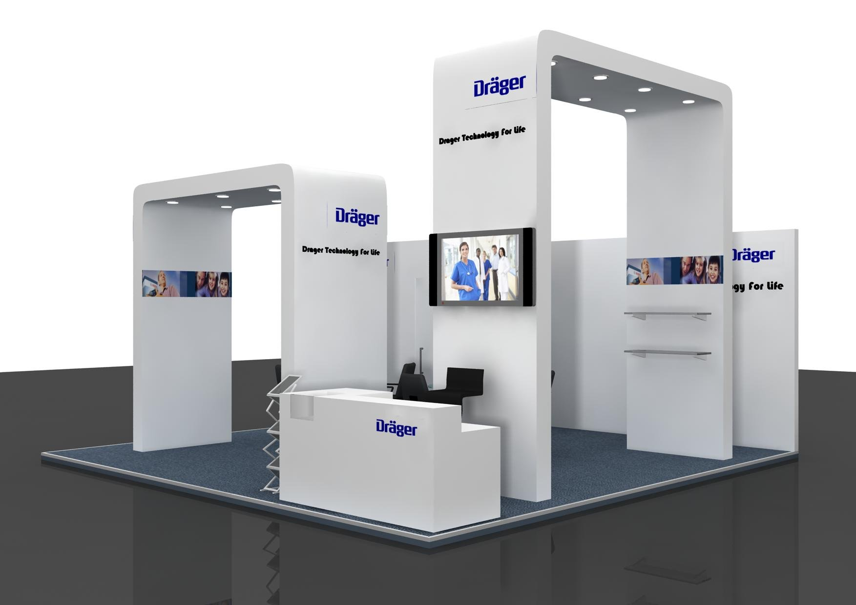 Exhibition Stall Image : Exhibition stalls stall interior booth design