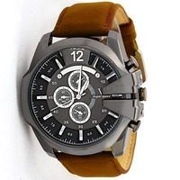 Hot selling Japanese movement V6 watches, V6 Big Dial Casual Fashion Watches Men Luxury Brand Analog Sports Military Watches