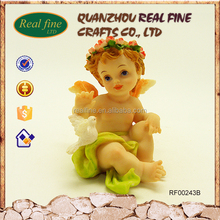 High-quality polyresin material baby angel ornament