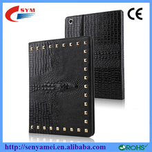 Flip Stand Leather Luxury Smart Cover Crocodile Case For iPad 2 3 4 5 6