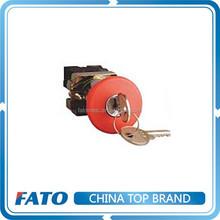 FATO Key Reset Emergency Stop Push Button Switch