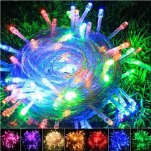 10m AC110/220V led string light 100 led wedding party xmas christmas tree decoration light led christmas light
