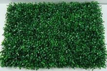 the artificial green boxwood mats