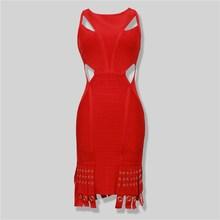 new model women dress tassel red korean dress clothing for girls