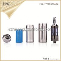 2014 hot sell Satinless and gold plating mixture classic disposable e cigarette with 18350 18500 18650 battery