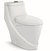 Ceramic new model p trap toilet W107