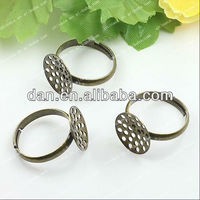 eco-friendly ring setting removable stone