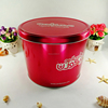 Gift box candy can tin container for festival