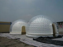 2015 hot clear-inflatable-lawn-tent,inflatable clear lawn tent