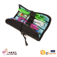 2015 new products! nylon professional makeup artist tools organizer cosmetic make up brush bag