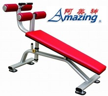 Commercial grade Abdominal fitness machine AMA-8840 high quality incline sit up bench in Guangzhou exercise equipment factory