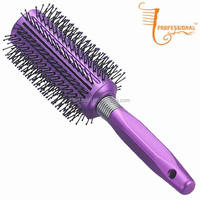 Salon Plastic personalized hair brush, parts of hairbrush