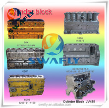 Factory Price OEM New Casting Engine Cylinder Block For Excavator
