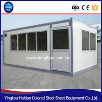 Prefabricated home constructing marvelous villas house new design,fully furnished container home