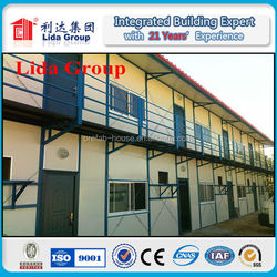 export prefab house low cost