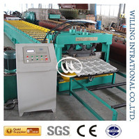 building materail standing seam metal roof machine